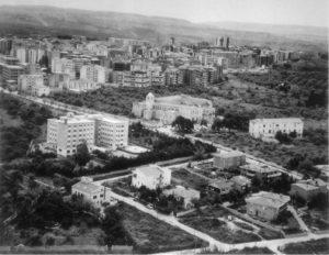 L'area di San Pietro di Silki in una foto aerea.