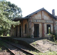 Stazione abbandonata di Nova Sardenha