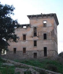 Villa ponte Diana, località Pedredu (Oschiri)