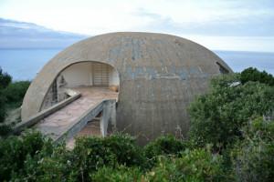 Cupola realizzata da Dante Bini. Si trova in una proprietà privata e ogni accesso è vietato.