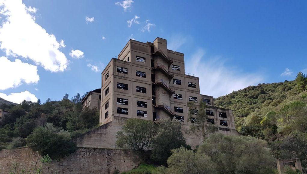 miniera san leone - sardegna abbandonata